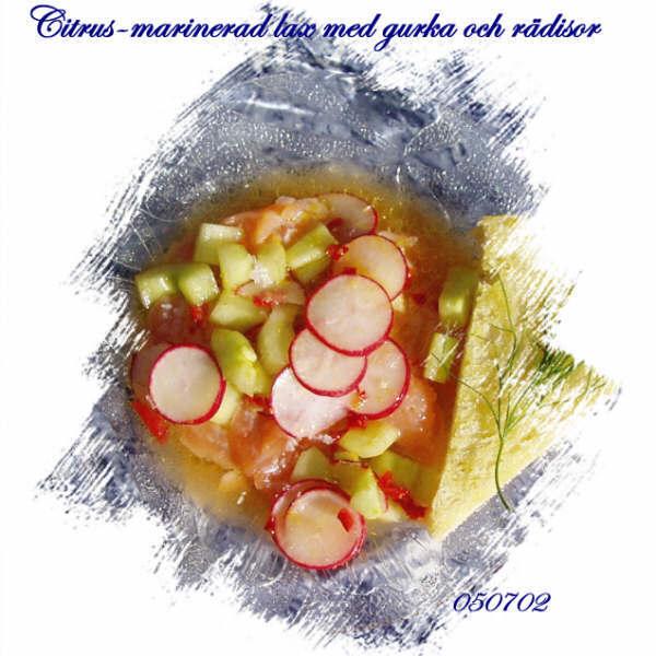 Citrusmarinerad