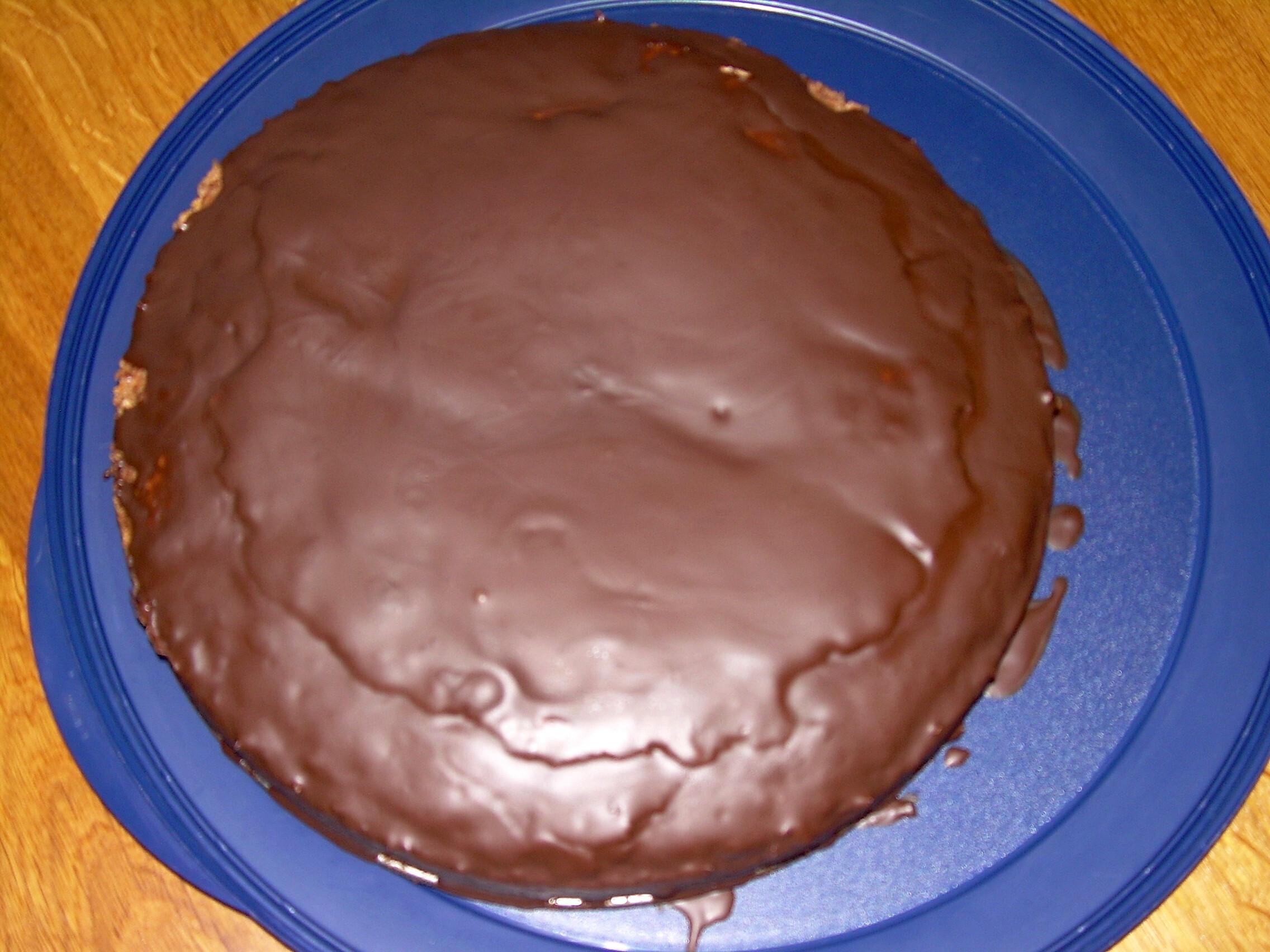fransk chokladkaka