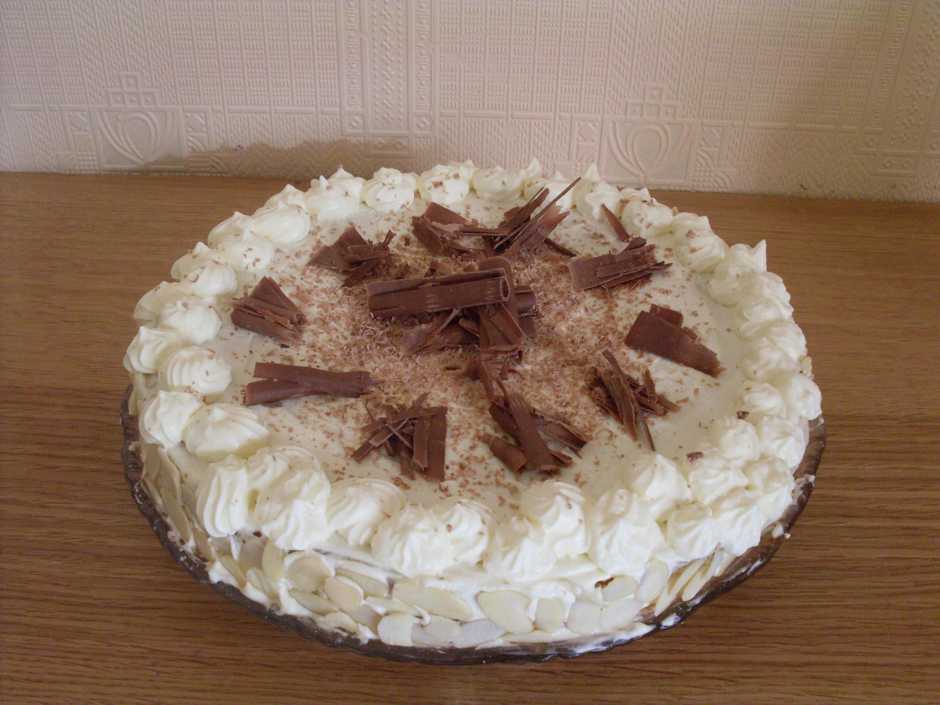 Krämig tårta