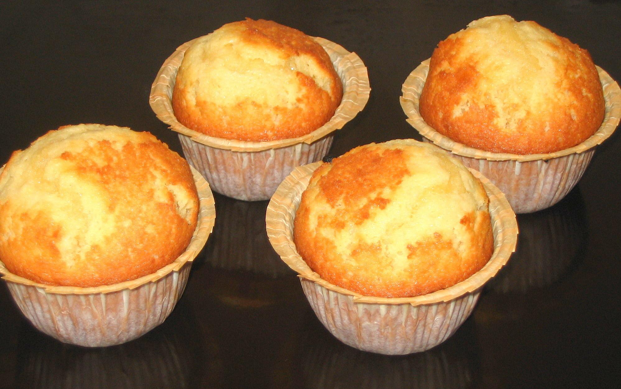 Toppiga muffins