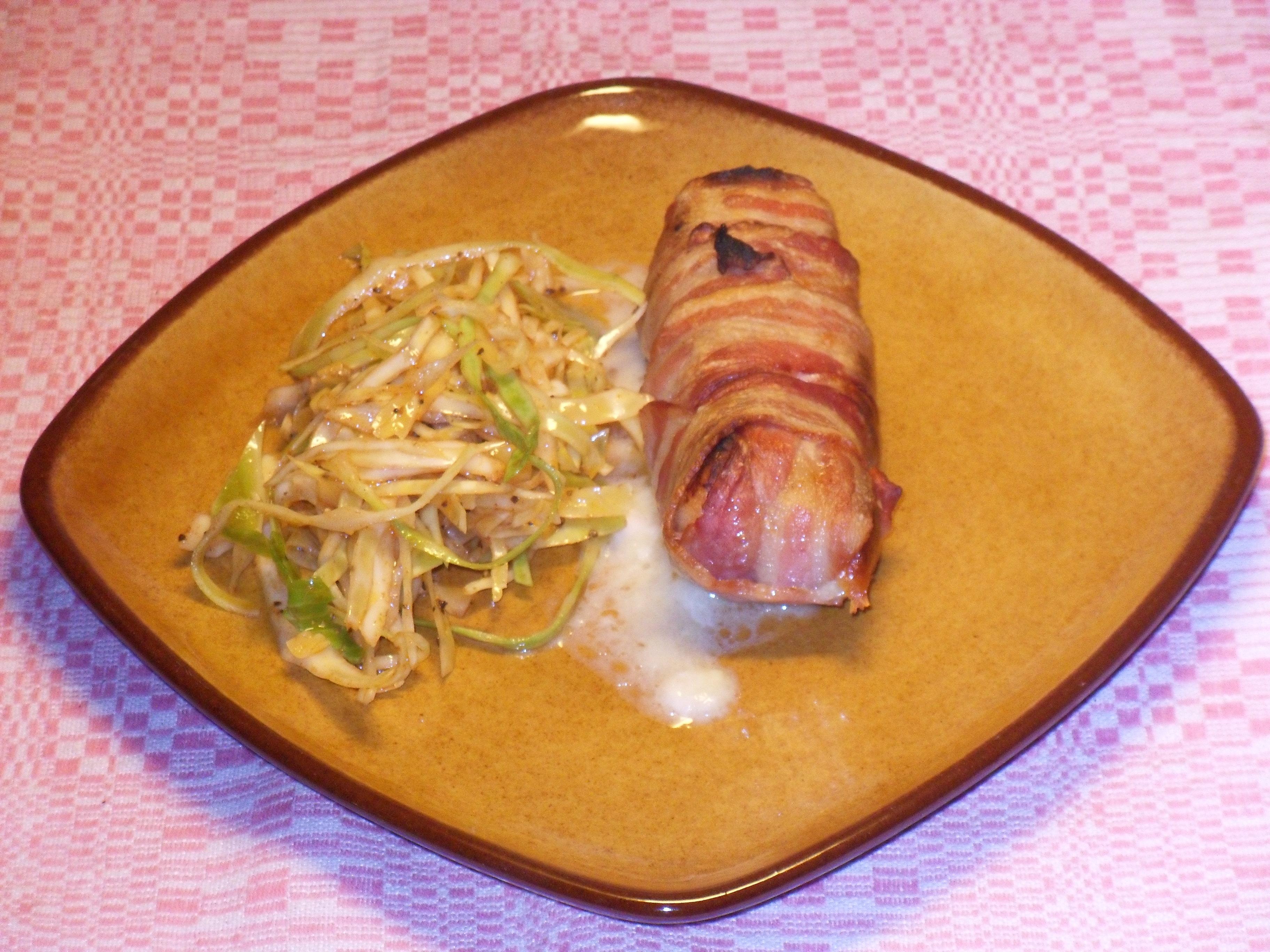 Baconbr�d med b..