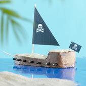 Piratskepp Tårta