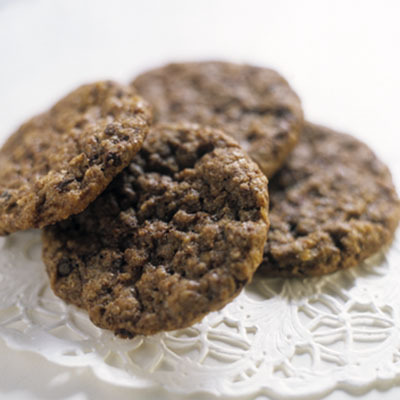 Sivs amerikanska chokladcookies