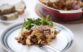 mozzarella köttfärssås