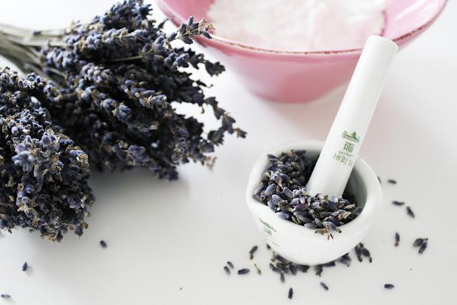 Lavendelglass
