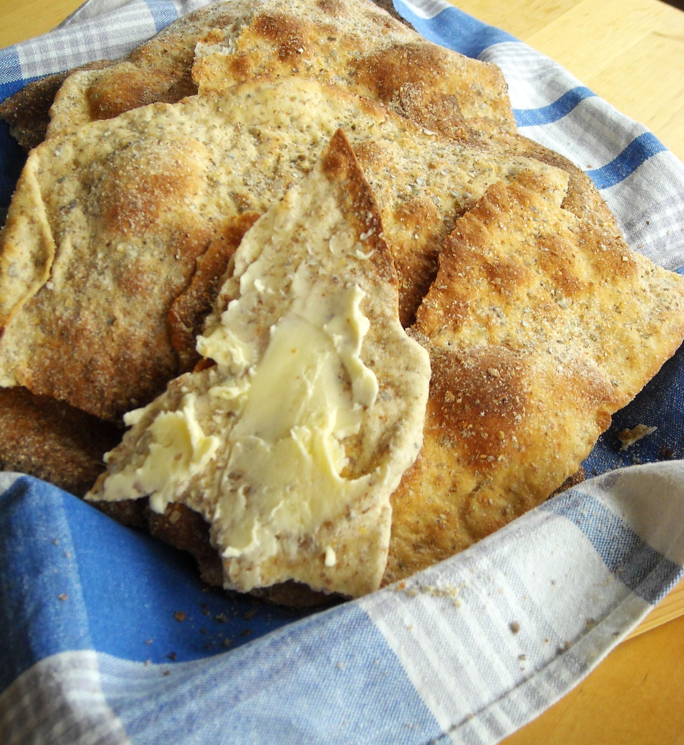 bröd utan jäsning i kall ugn
