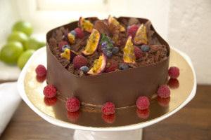 fyrkantig tårtbotten