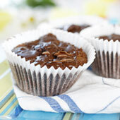 Knäck muffins