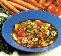 Middagssoppa med curryfräs