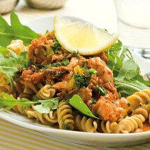 Tonfisksås med pasta