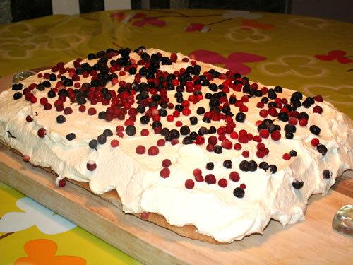 Glutenfri tårta