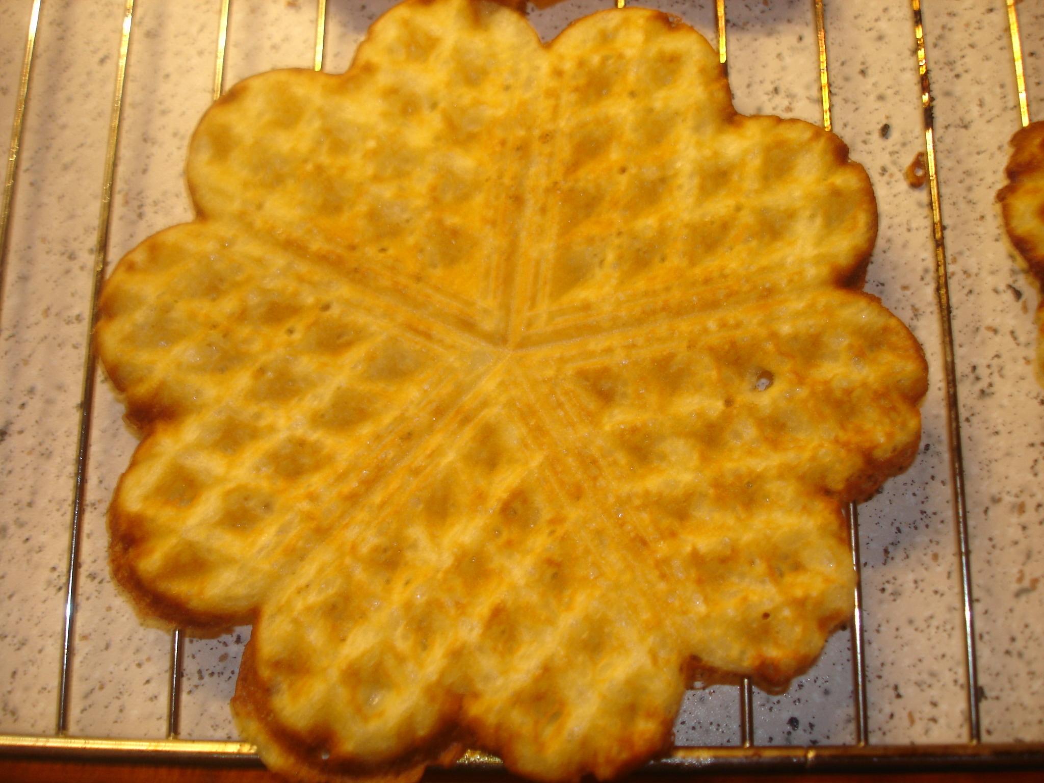 Våfflor - laktos och glutenfria