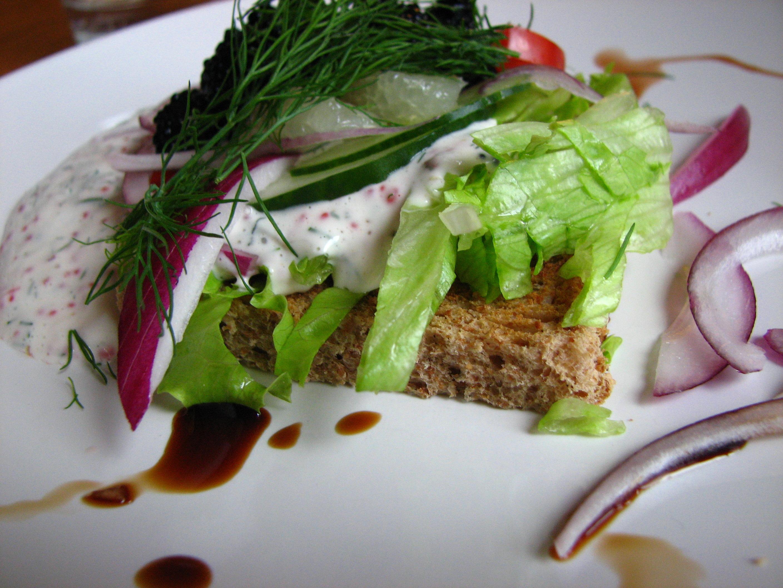 vegan sallad