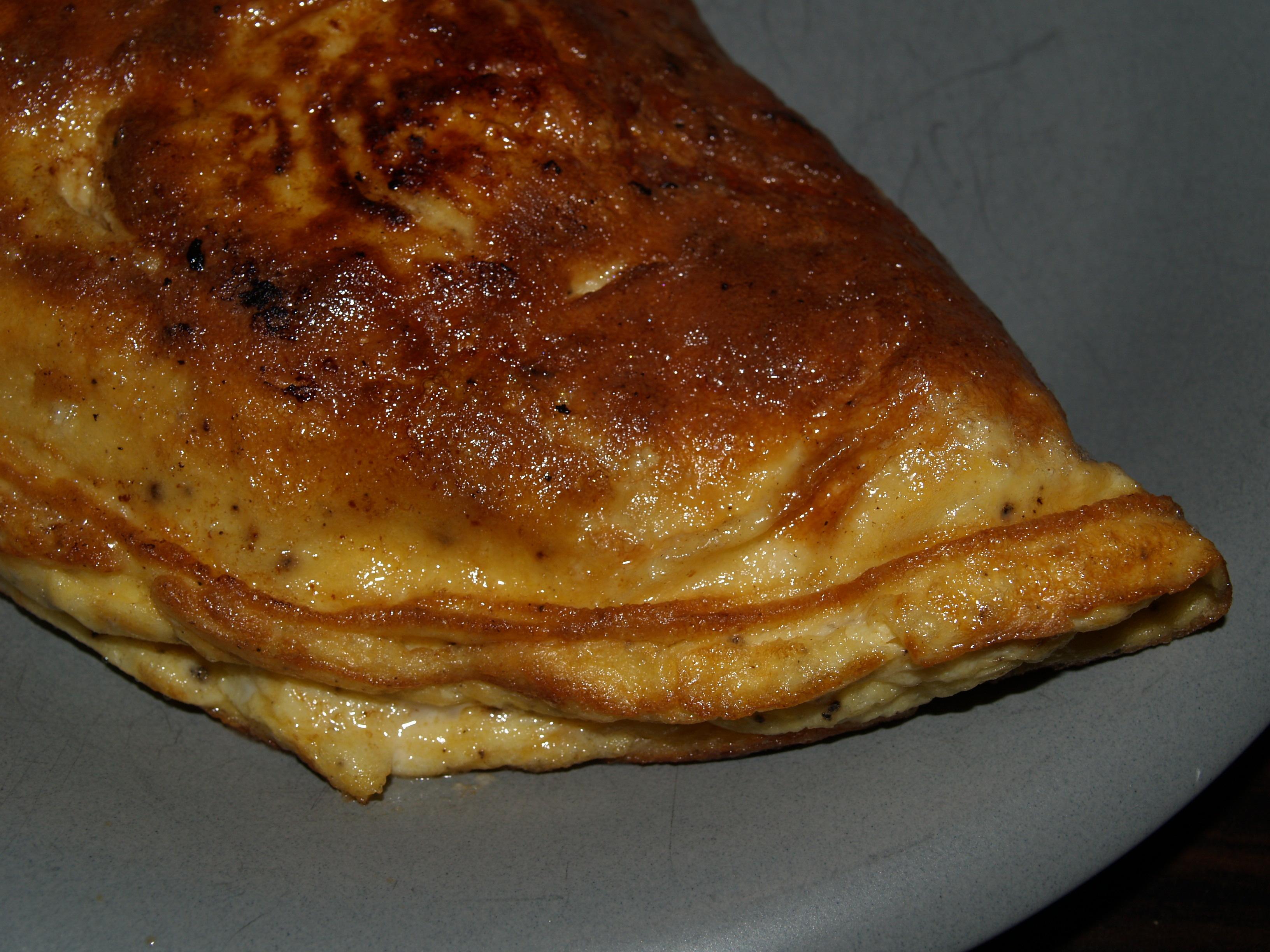 Omelett med moz..