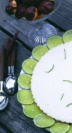 fräsch lime cheesecake