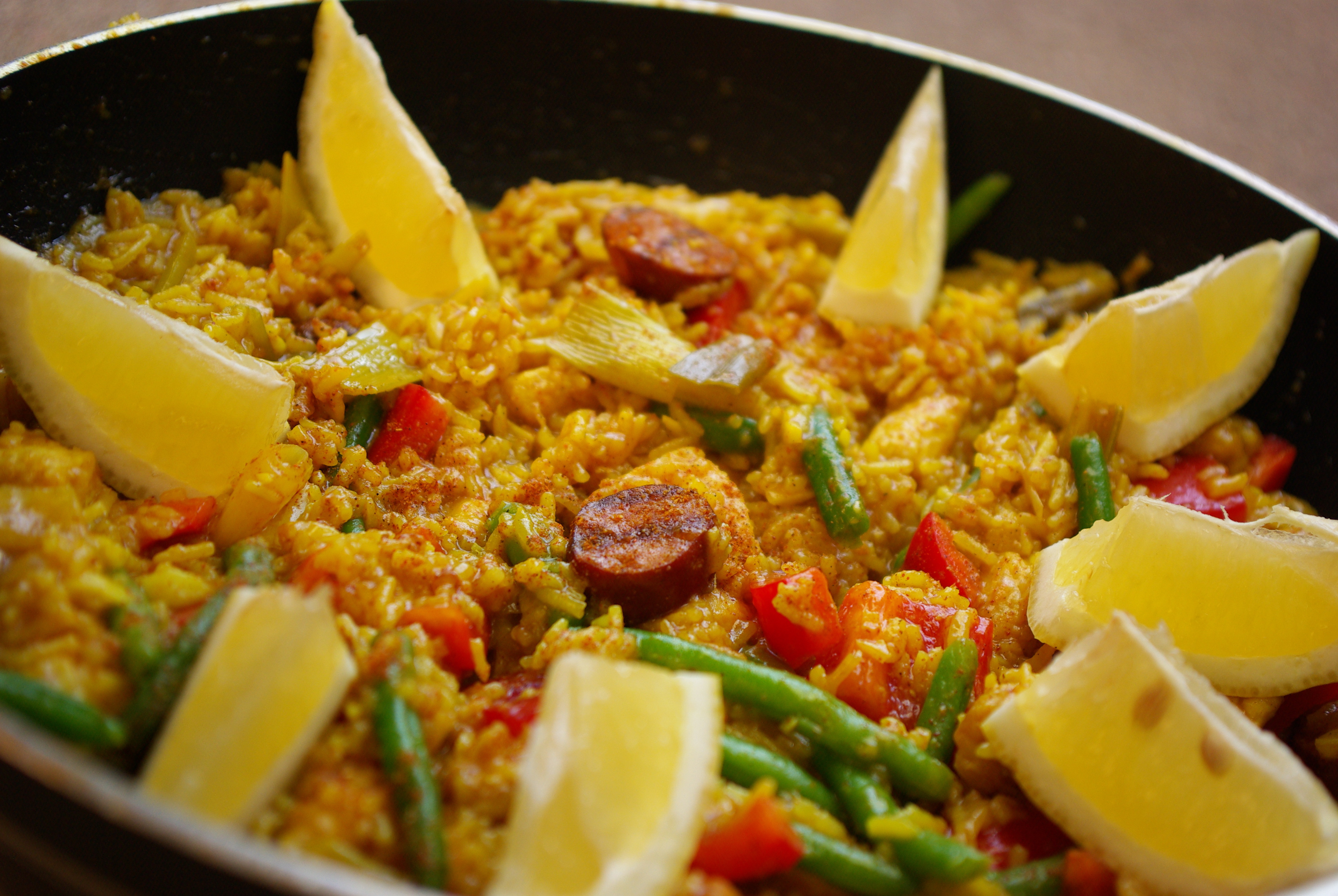 paella med curry