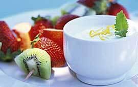 Fruktspett med
