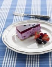 blåbärscheesecake kall