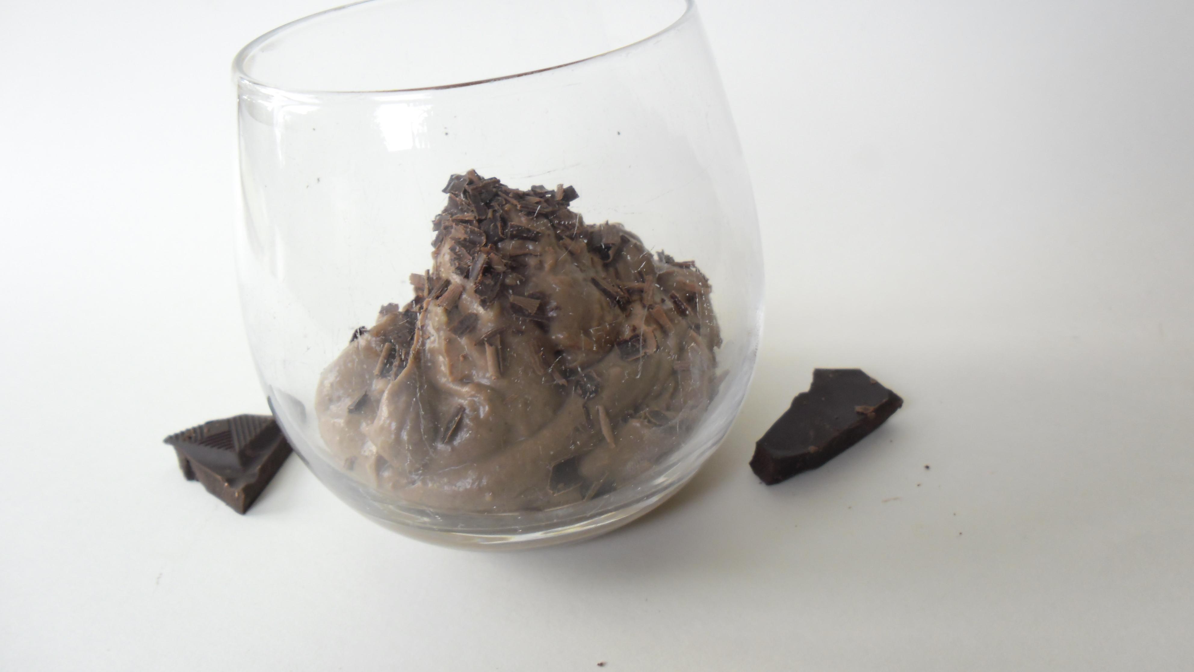 Avokado- och chokladmousse