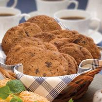 Choklad- och pecannötcookies