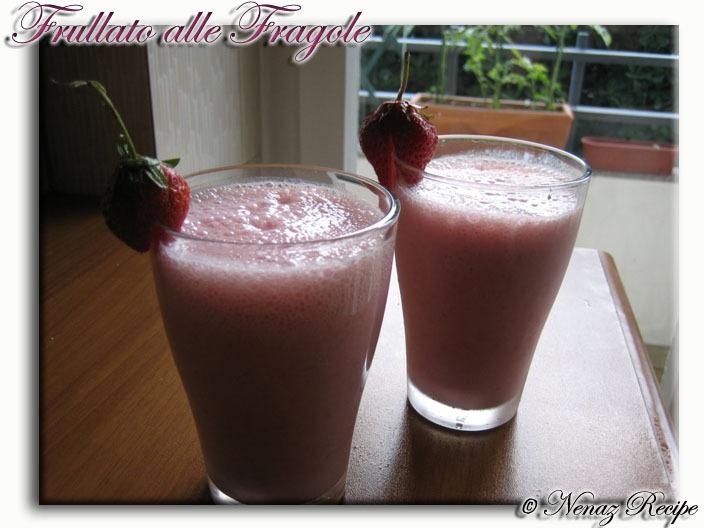 Jordgubbs Milkshake