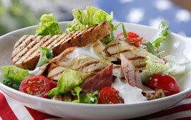 clubsandwich med skinka