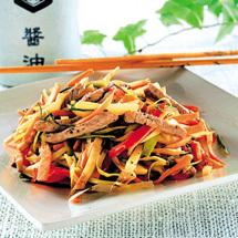 Fläskfilé i wok