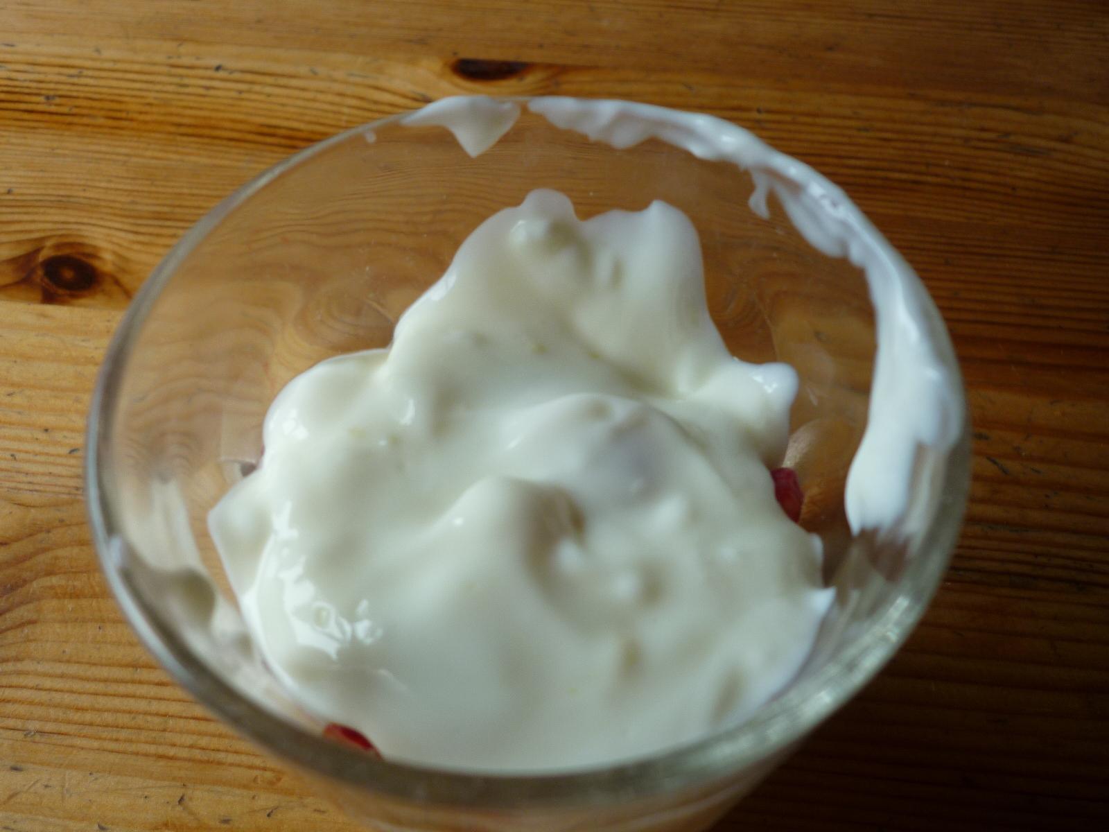 Cheesecake i glas smal  efterätt