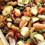 Rostade grönsak..