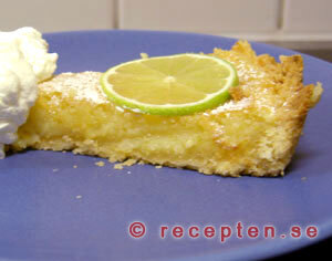 Lime- and lemon pie