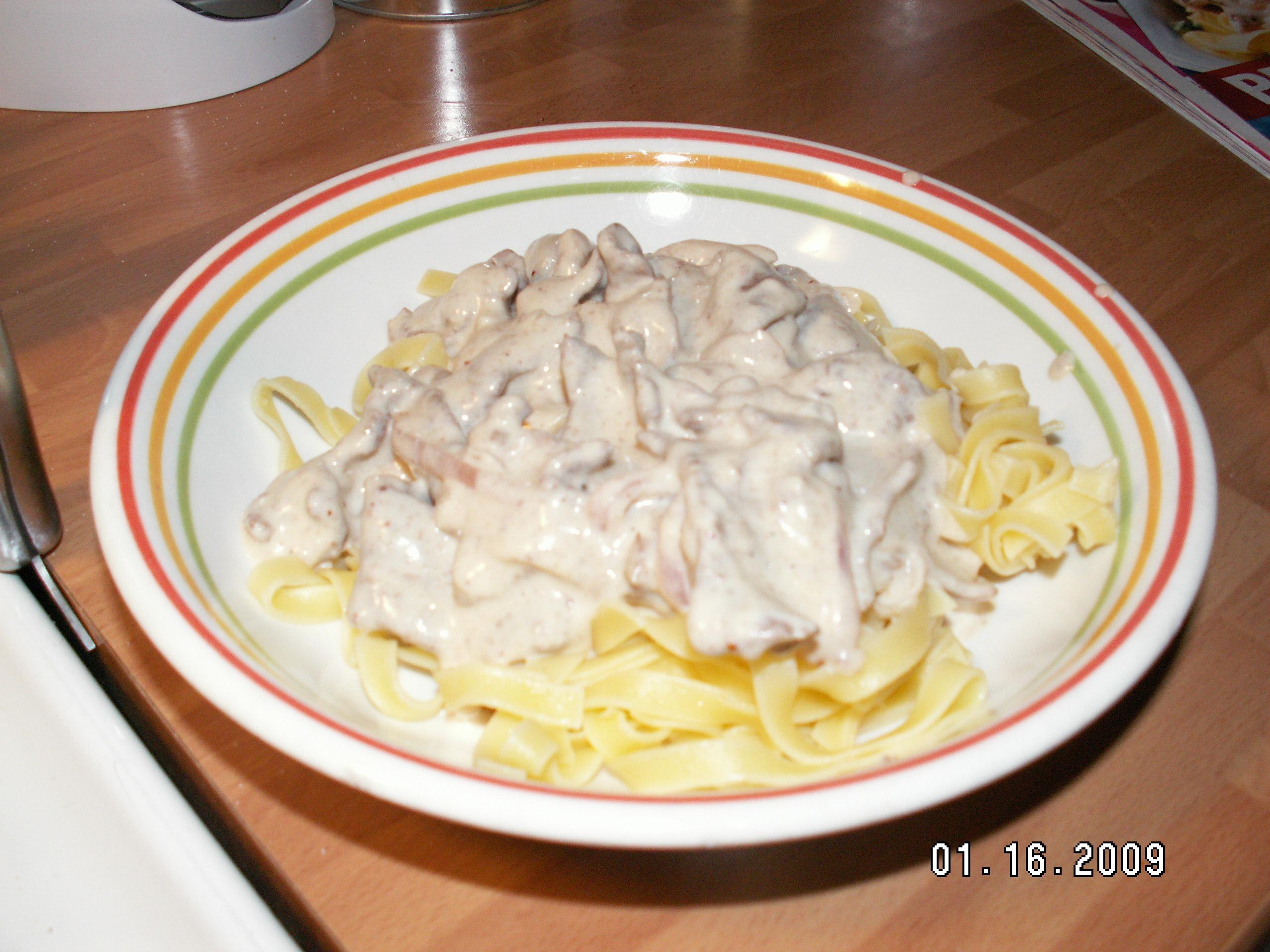 lövbiffsås till pasta