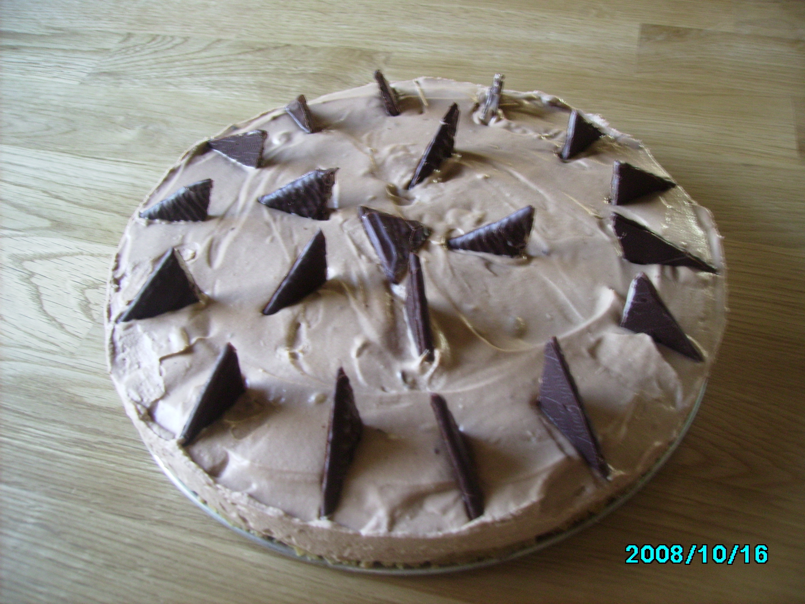leilas chocolate chip cheesecake
