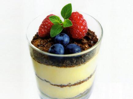 drottning dessert