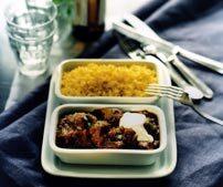 Köttgryta med indiska smaker