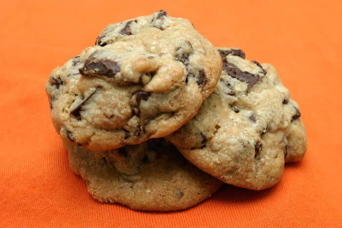 Crispy Chocolate Chunk Cookies