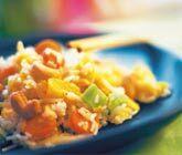 vegetarisk riswok