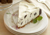 Cheesecake med mintchoklad