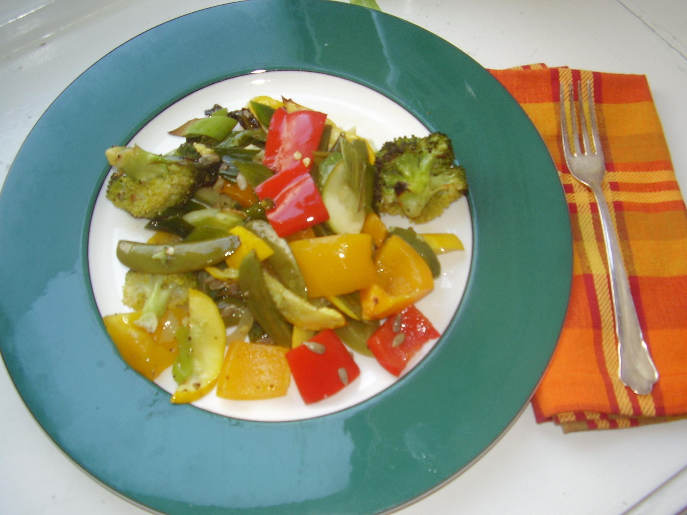 Rostade grönsaker