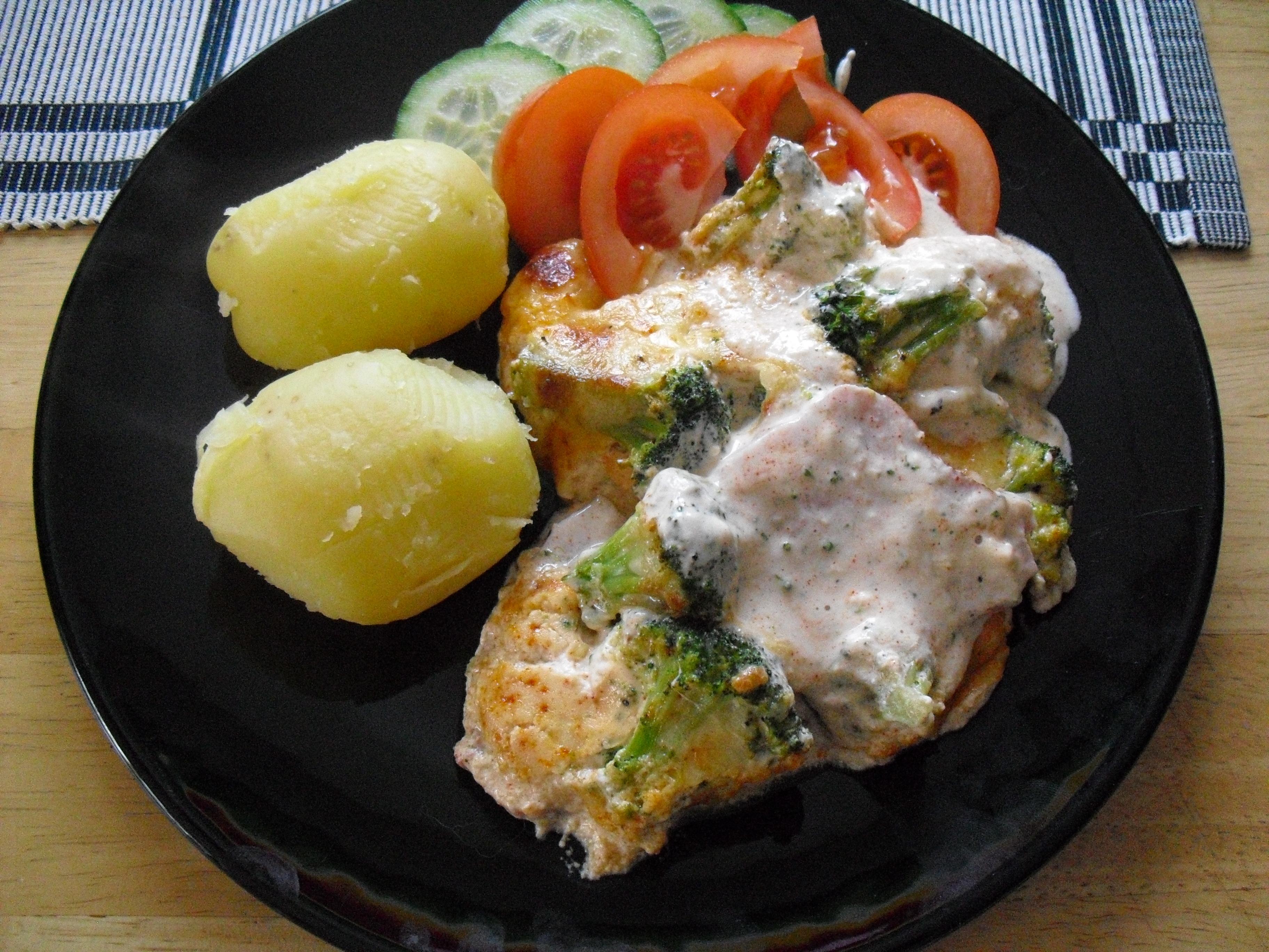 potatis och broccoligratäng