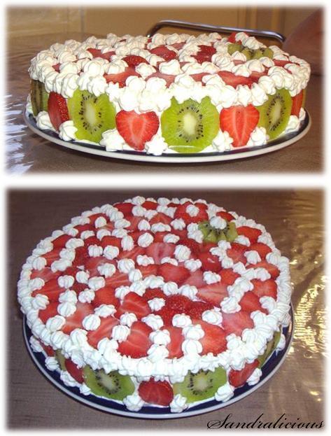 Lättgjord tårta