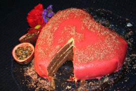 Hjärtegod tårta..