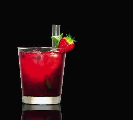 hallonmojito drink