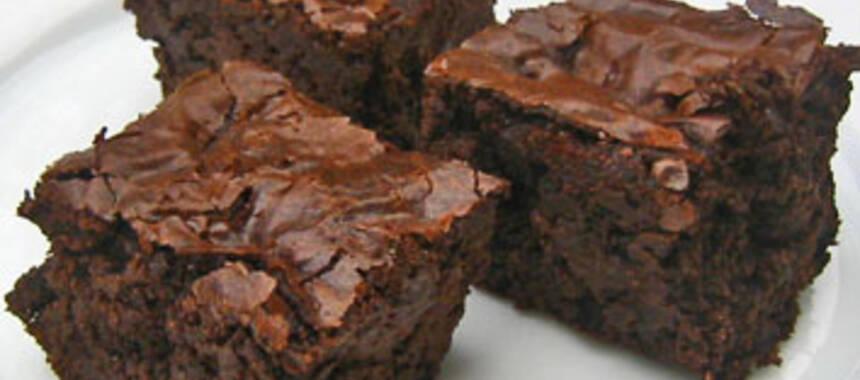 fudge brownie recept