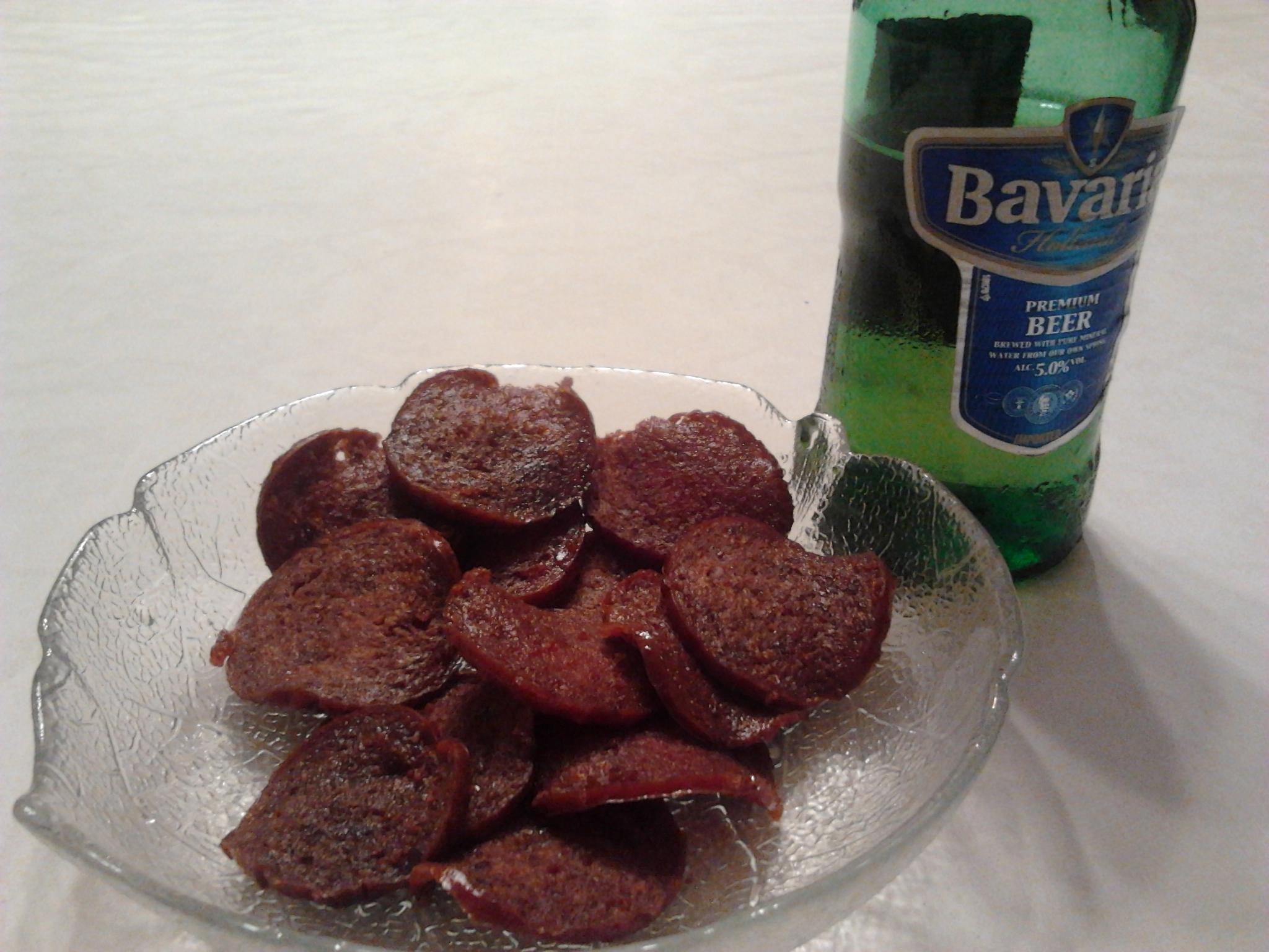 Salami snacks