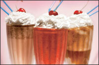 coca cola milkshake