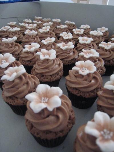 Rich chocolate cupcakes med Marabou ganache