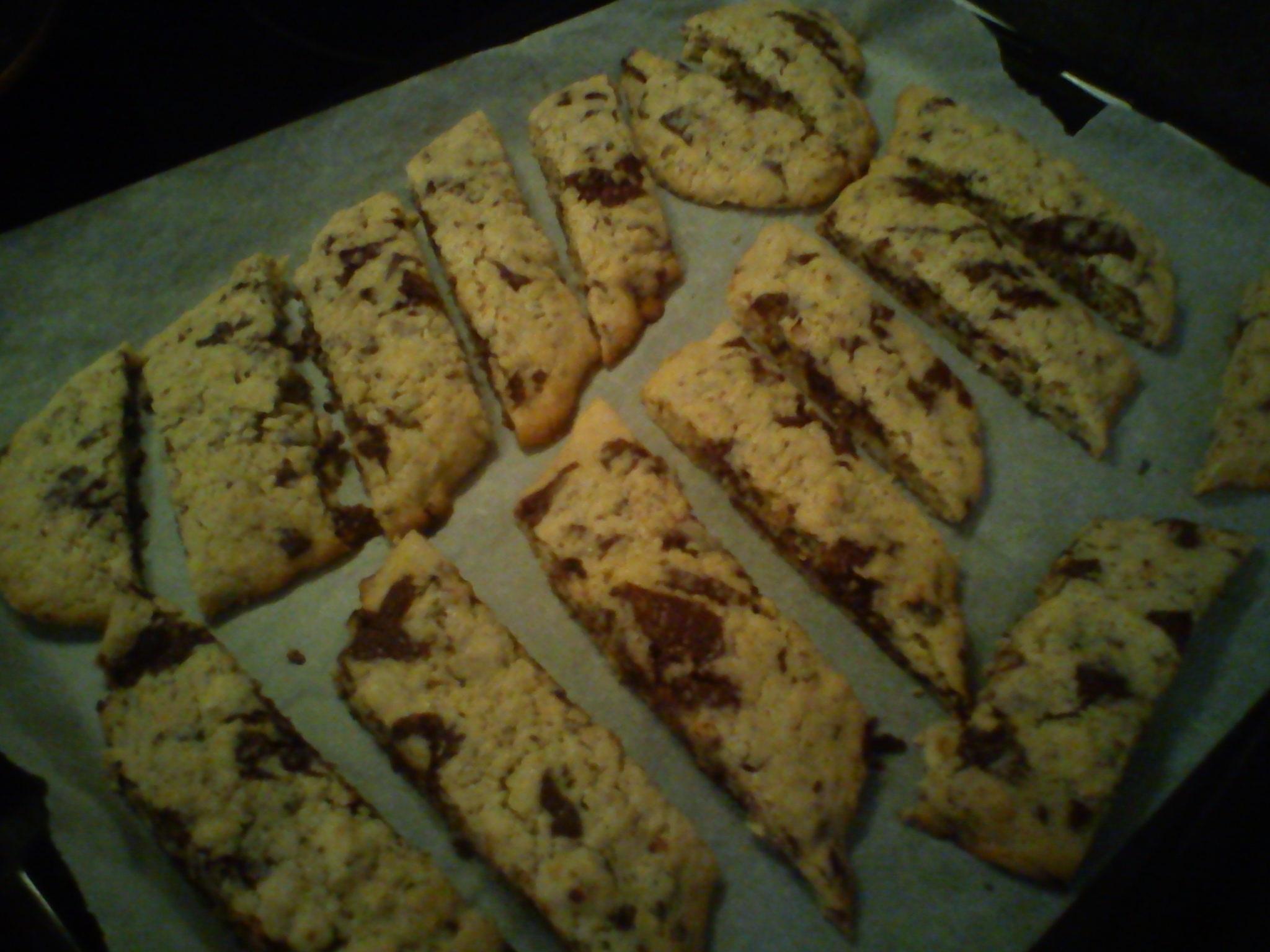 biscotti hasselnötter