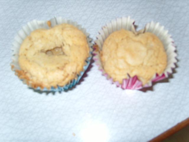 Muffins mandelmjöl banan