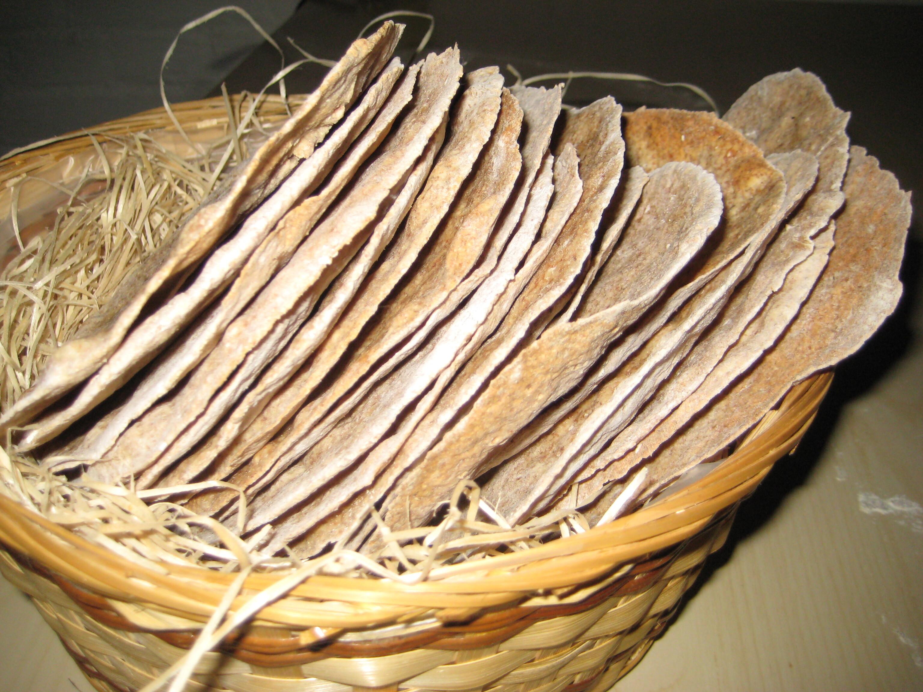 Knäckebröd med kummin