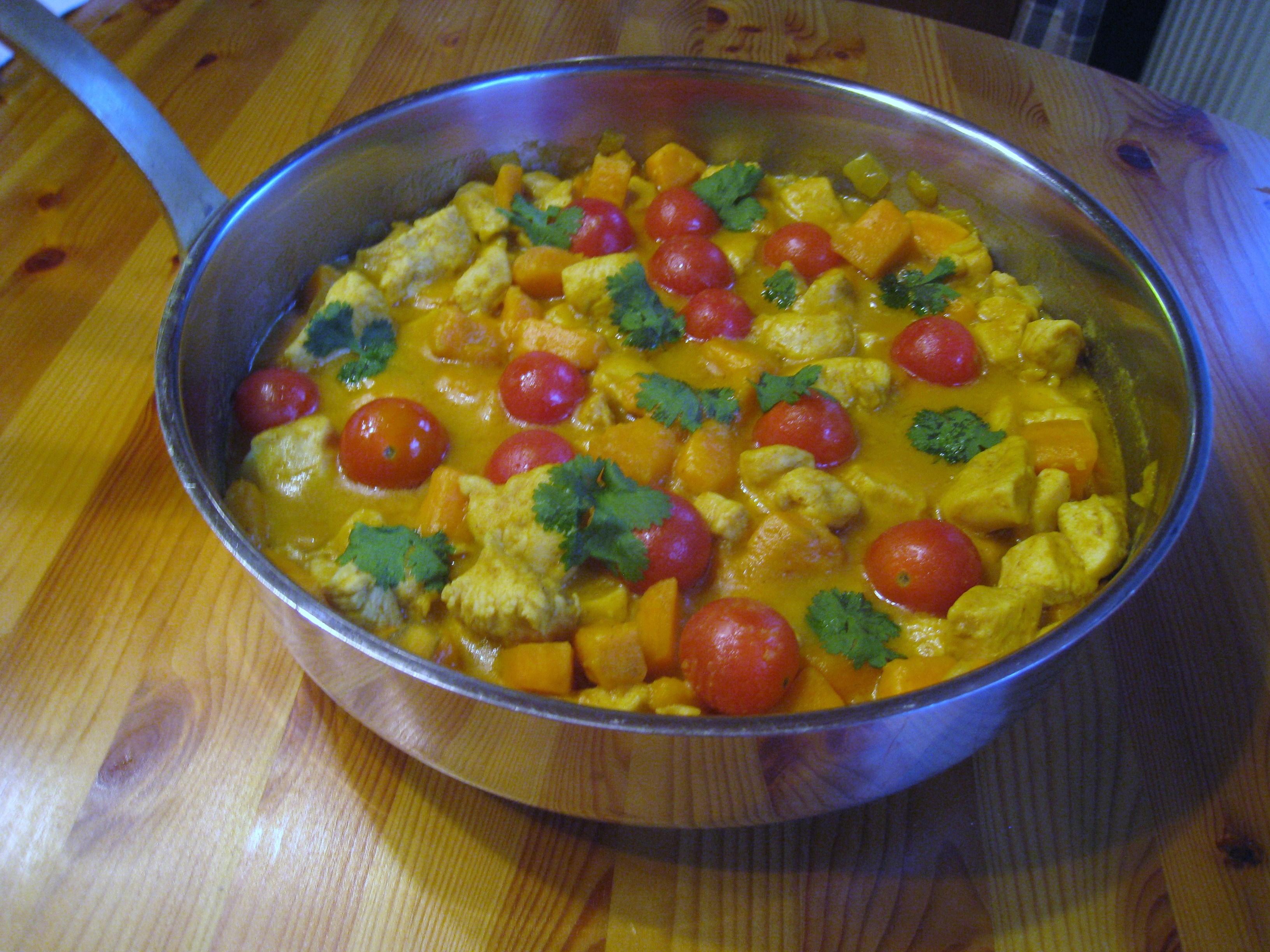 Currygryta med